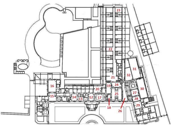 Immagine n3 - Planimetry - BCD - Ground floor - Asta 2910
