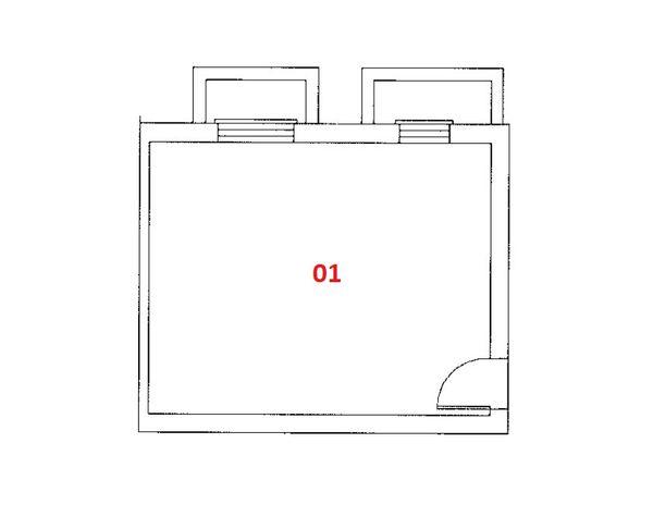 Immagine n1 - Planimetria - Piano seminterrato - Asta 2961