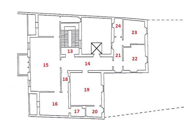 Immagine n0 - Planimetria - A - Piano primo - Asta 2978