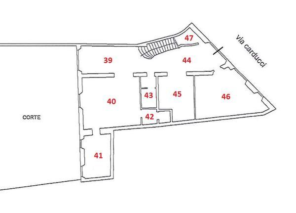 Immagine n0 - Planimetria - B - Piano terra - Asta 2978
