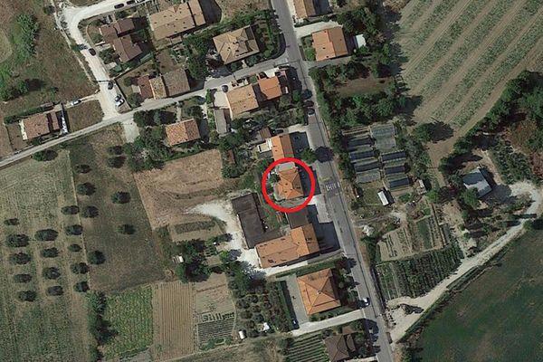 Immagine n0 - Planimetria - Vista aerea - Asta 3152