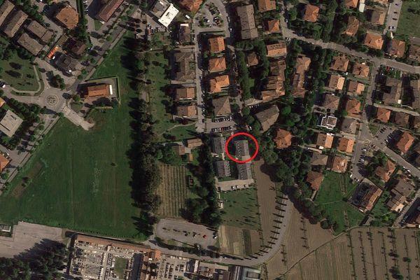 Immagine n1 - Planimetria - Vista aerea - Asta 3202