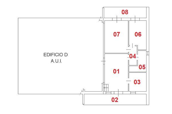 Immagine n1 - Planimetria - Piano secondo - Asta 3202