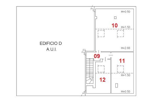 Immagine n1 - Planimetria - Piano terzo - Asta 3202