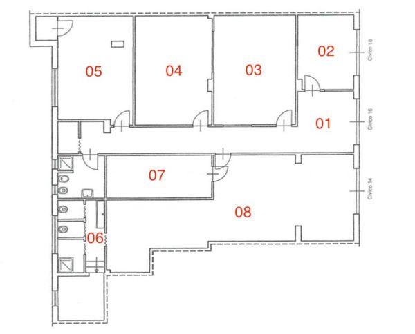 Immagine n7 - Planimetry - Ground floor - Asta 3289