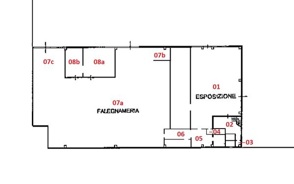 Immagine n1 - Planimetry - Ground floor - Asta 3293