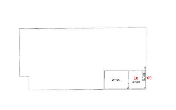Immagine n2 - Planimetry - First floor - Asta 3293