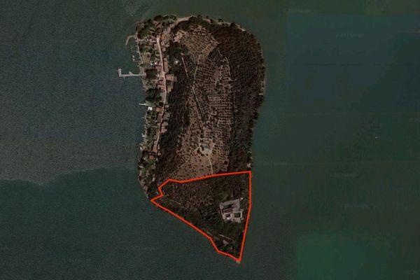 Immagine n2 - Planimetria - Vista aerea - Asta 3324