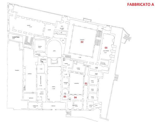 Immagine n0 - Planimetria - Piano terra - Fabbricato A - Asta 3324