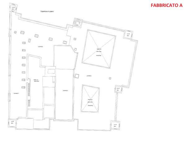 Immagine n3 - Planimetria - Piano secondo - Fabbricato A - Asta 3324