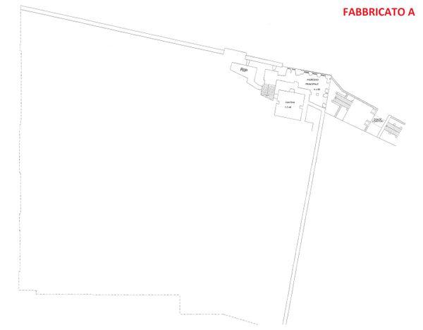 Immagine n4 - Planimetria - Piano seminterrato - Fabbricato A - Asta 3324