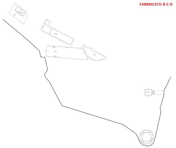 Immagine n5 - Planimetria - Piano terra - Fabbricato B-C-D - Asta 3324