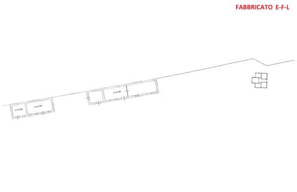 Immagine n7 - Planimetria - Piano terra - Fabbricato E-F-L - Asta 3324