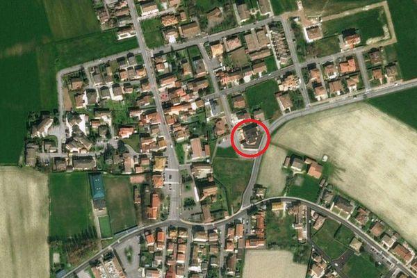 Immagine n0 - Planimetria - Vista aerea - Asta 3390