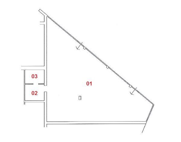 Immagine n1 - Planimetria - Piano terra - sub 9 - Asta 3390