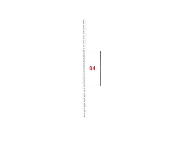 Immagine n1 - Planimetria - Piano terra - sub 23 - Asta 3390