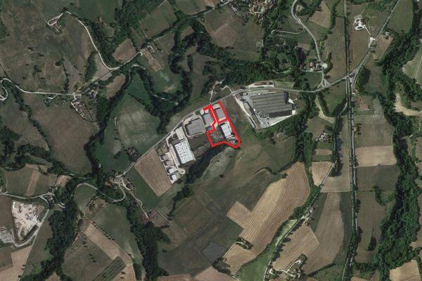 Immagine n0 - Planimetria - Vista aerea - Asta 3407