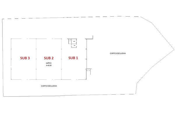 Immagine n0 - Planimetry - Ground floor - Asta 3407