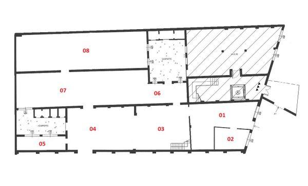 Immagine n0 - Planimetria - Piano terra - Asta 3490