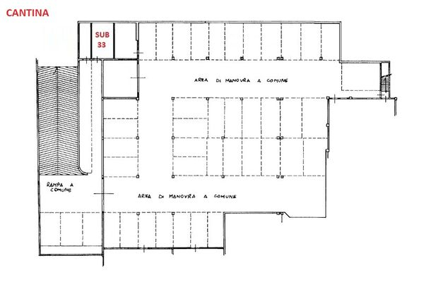 Immagine n0 - Planimetry - Basement - Asta 3497