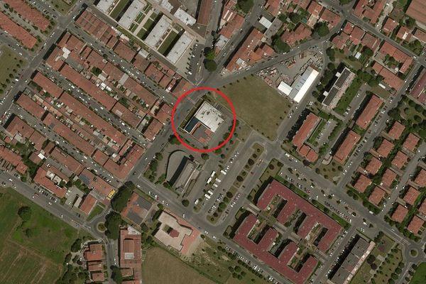 Immagine n0 - Planimetria - Vista aerea - Asta 3504