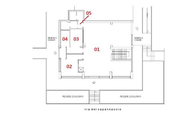 Immagine n0 - Planimetria - Piano terra - Asta 3505