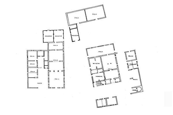 Immagine n1 - Planimetria - Piano terra - Asta 3521