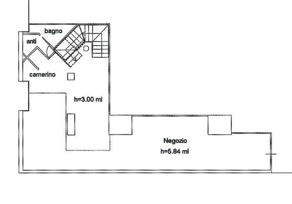 Immagine n1 - Planimetry - Ground floor - Asta 3544