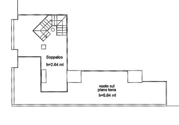 Immagine n2 - Planimetry - First floor - Asta 3544