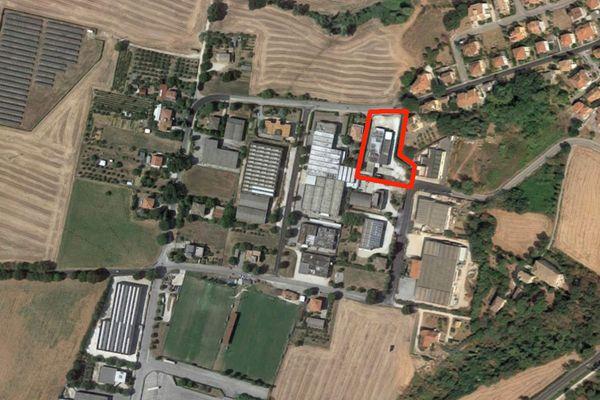 Immagine n0 - Planimetria - Vista aerea - Asta 3635