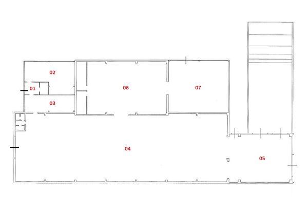 Immagine n1 - Planimetria - Piano terra - Asta 3635