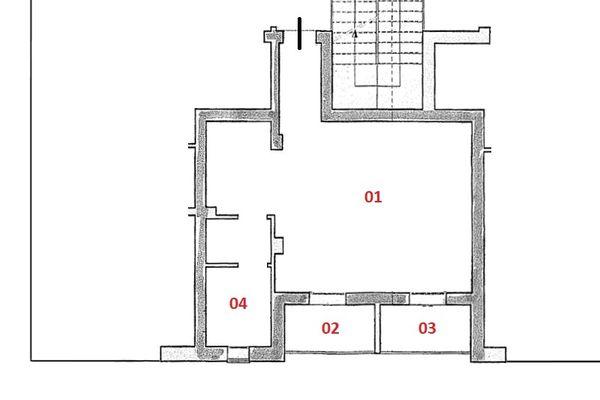 Immagine n1 - Planimetry - Third floor - Asta 3643
