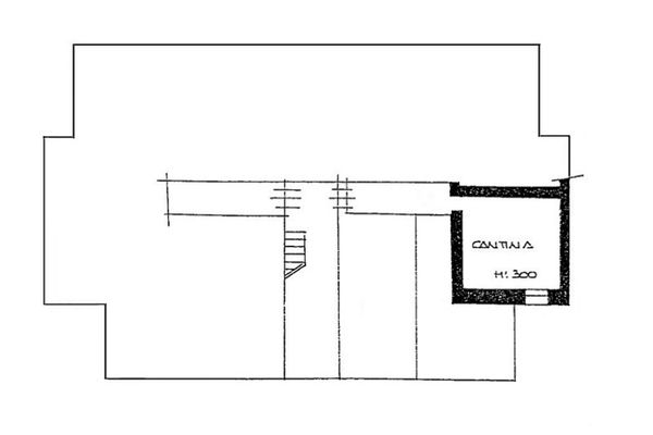 Immagine n2 - Planimetry - Basement - Asta 3645
