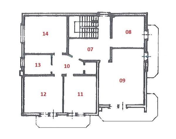 Immagine n2 - Planimetry - First floor - Asta 3670
