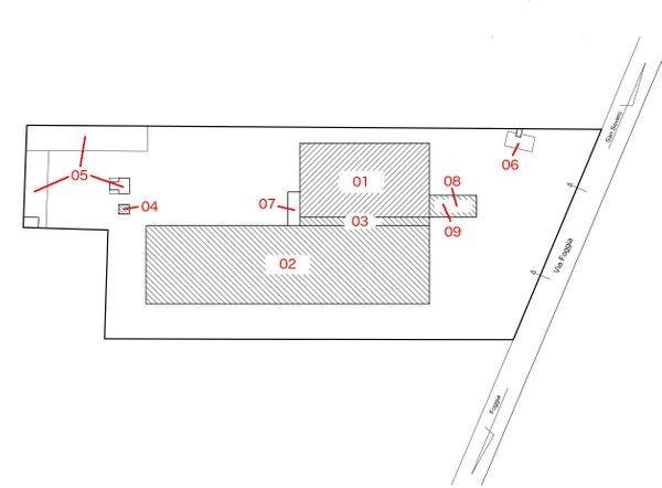 Immagine n8 - Planimetria - Fabbricati - Asta 371