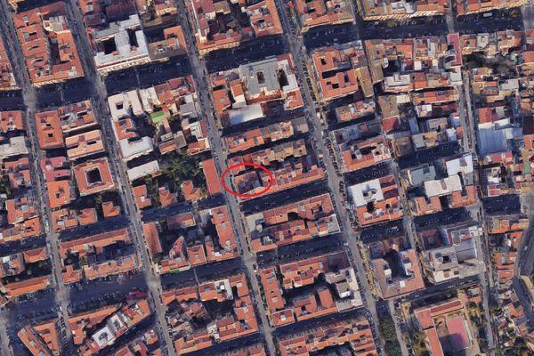 Immagine n0 - Planimetria - Vista aerea - Asta 3720