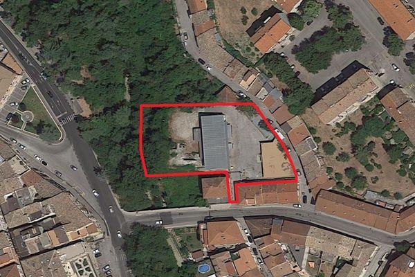 Immagine n1 - Planimetria - Vista aerea - Asta 3732