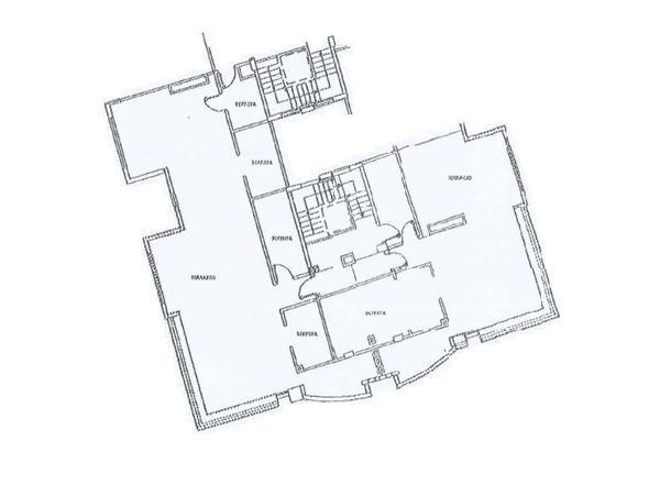 Immagine n1 - Planimetria - Piano quinto - Asta 3740