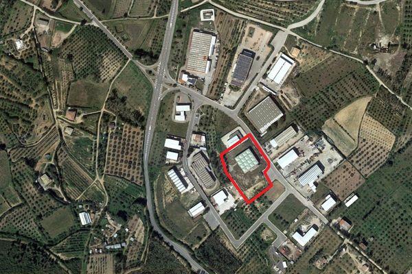 Immagine n0 - Planimetria - Vista aerea - Asta 3834