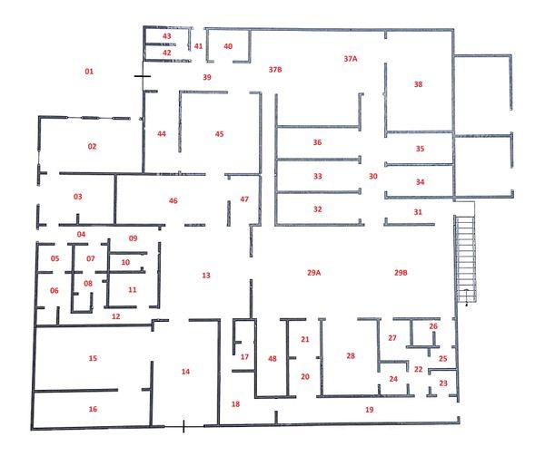 Immagine n0 - Planimetria - Piano terra - Asta 3834
