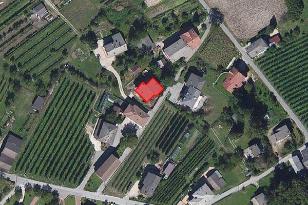 Immagine n0 - Planimetria - Vista aerea - Asta 3851