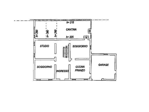 Immagine n0 - Planimetry - Ground floor - Asta 3868