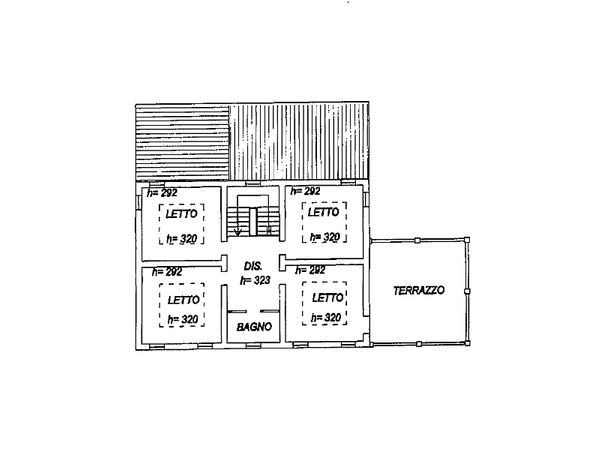 Immagine n2 - Planimetry - First floor - Asta 3868