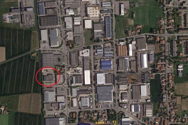 Immagine n0 - Planimetria - Vista aerea - Asta 3873