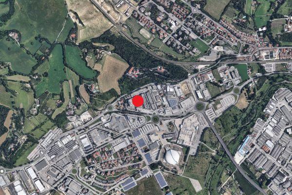 Immagine n0 - Planimetria - Vista aerea - Asta 3913