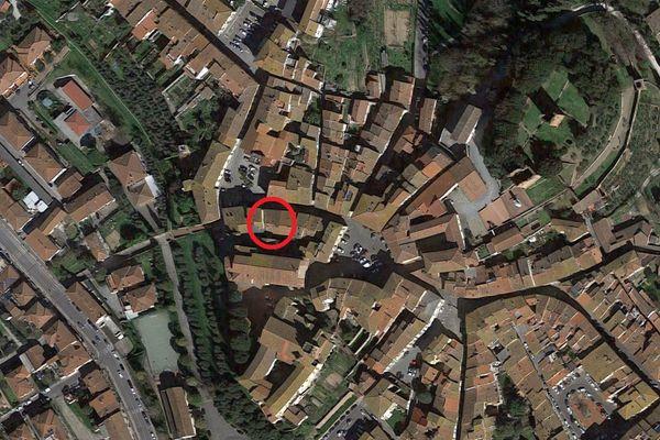 Immagine n0 - Planimetria - Vista aerea - Asta 3942