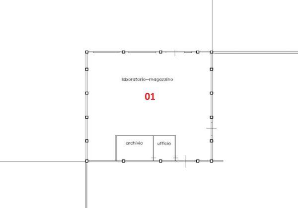 Immagine n0 - Planimetry - Ground floor - Asta 4049