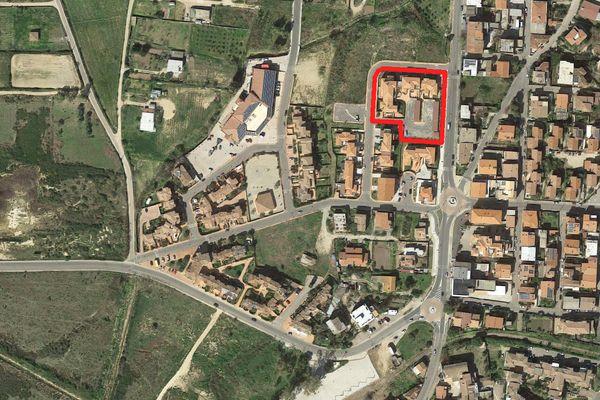 Immagine n1 - Planimetria - Vista aerea - Asta 4071