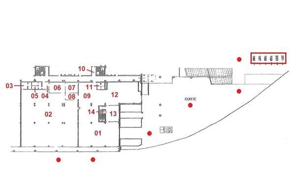 Immagine n1 - Planimetria - Piano terra - Asta 4120