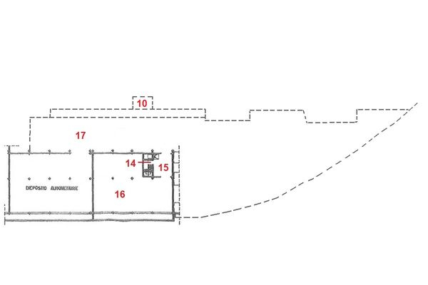 Immagine n0 - Planimetria - Piano interrato - Asta 4120